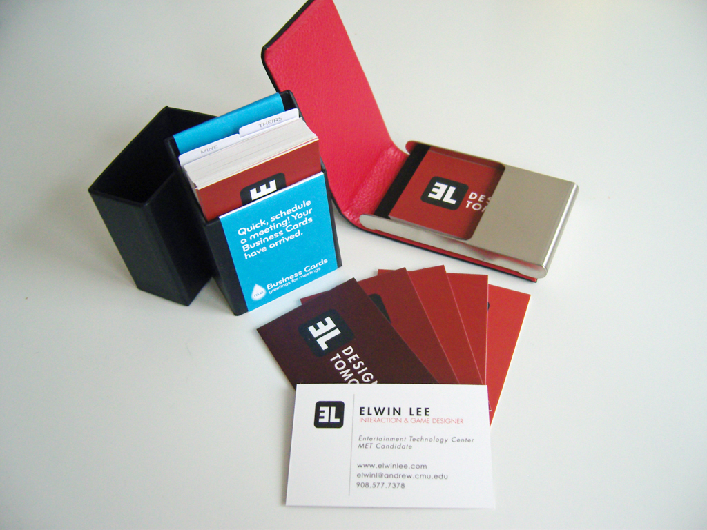 Business Card from MOO.com | Elwin Lee\'s Blog