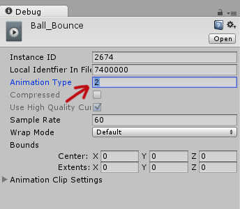 FIX] Unity3D – Animation Must be marked as Legacy Warning – Elwin